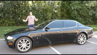 Download A Used Maserati Quattroporte is the Best Way to Look Rich for $20,000 3Gp Mp4