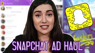 Download I Bought The First 5 Things Snapchat Recommended To Me 3Gp Mp4