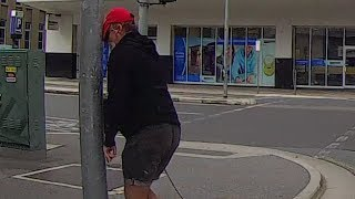 Download Angry pedestrian gets instant karma 3Gp Mp4