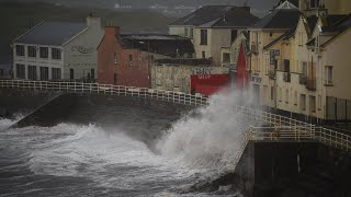 Download Storm Ophelia makes landfall in Ireland 3Gp Mp4