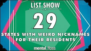 Download 29 States with Weird Nicknames for their Residents - mental_floss List Show Ep. 512 3Gp Mp4