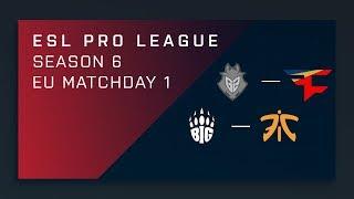 Download Full Broadcast - G2 vs. FaZe | BIG vs. Fnatic - EU A Matchday 1 - ESL Pro League Season 6 3Gp Mp4