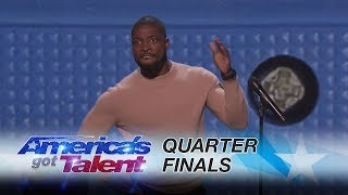 Download Preacher Lawson: Comedian Covers Clapping to Smartphones - America's Got Talent 2017 3Gp Mp4