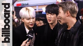 Download BTS Sings Camila Cabello's 'Havana' & Shows Off Some Red Carpet Dance Moves! | AMAs 2017 3Gp Mp4