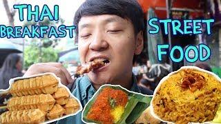 Download Thai BREAKFAST Street Food Tour in Bangkok Silom Soi 20 3Gp Mp4