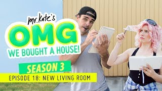 Download We Painted Our Living Room Black! | OMG We Bought A House! | Mr. Kate 3Gp Mp4
