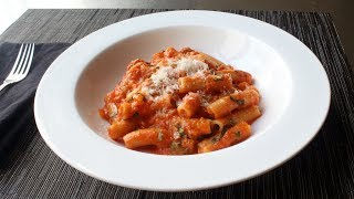 Download Rigatoni Al Segreto - Rigatoni with Secret Sauce - Gino's Rigatoni Al Segreto 3Gp Mp4