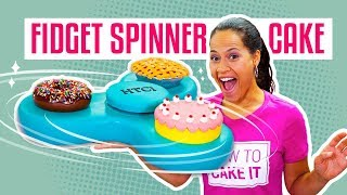 Download How To Make A FIDGET SPINNER Out Of CAKE | It Actually SPINS! | Yolanda Gampp | How To Cake It 3Gp Mp4