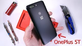 Download OnePlus 5T Durability Test! Scratch and Bend tested! 3Gp Mp4