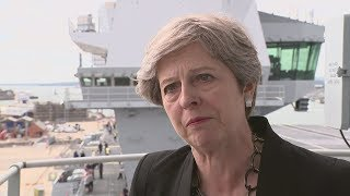 Download Theresa May criticises Trump for his failure to condemn white supremacists 3Gp Mp4