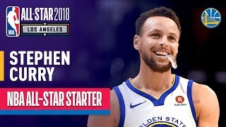 Download Stephen Curry 2018 All-Star Captain | Best Highlights 2017-2018 3Gp Mp4