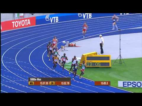 Berlin Aug 23,2009 Kenenisa Bekele runs away with the Gold! ቀነኒሳ የኛ አንበሳ.