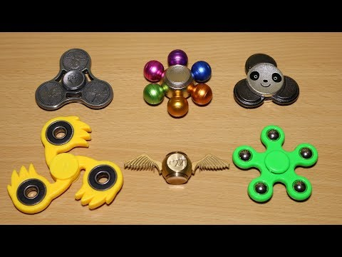 Awesome Fidget Spinners!!! Panda, Multicolor, Harry Potter and More
