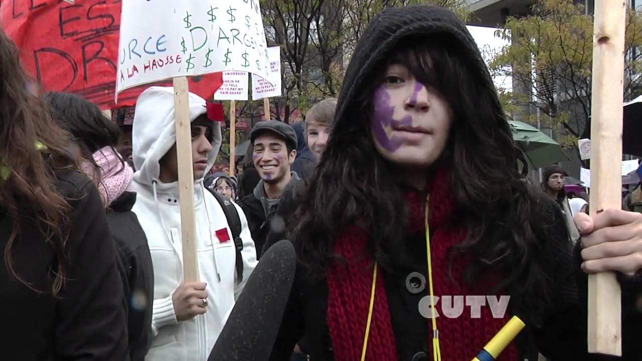 Manifestation etudiante nationale - Day of Action 10.11.2011