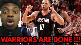 CAN ROCKETS ELIMINATE WARRIORS REACTION !!! Rockets vs Warriors Game 5 Highlights !!!!!