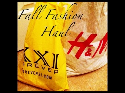 Fall Fashion Haul: H&M, F21, Target and MORE!!