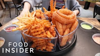 Burger Joint Serves A Fry Roulette With 72 Combinations