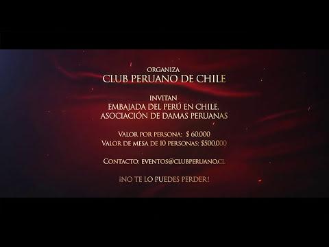 CENA DE GALA BAILABLE - FIESTAS PATRIAS PERÚ 2014 - SANTIAGO DE CHILE