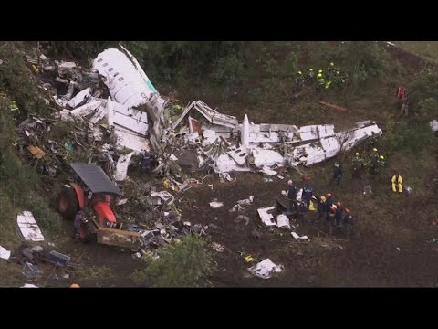 Brazil in mourning after plane crash