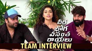 Veera Bhoga Vasantha Rayalu Team interview | | Nara Rohit | Sree Vishnu | Shriya