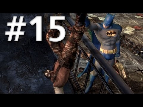 Road To Arkham Knight - Batman Arkham City - Walkthrough - Part 15 - Enigma's Second Hostage