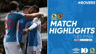 Highlights: Rovers 3-0 Hull City