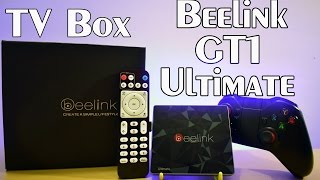 Super Tv Box BEELINK GT1 ULTIMATE 32GB 3GB RAM Android 6 Review ESPAÑOL