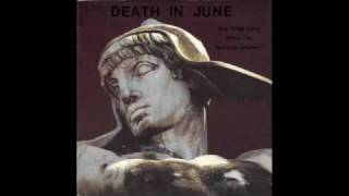 Watch Death In June Little Black Angel video