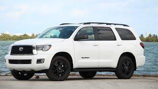 New 2019 Toyota Sequoia TRD Sport|Interior And Exterior