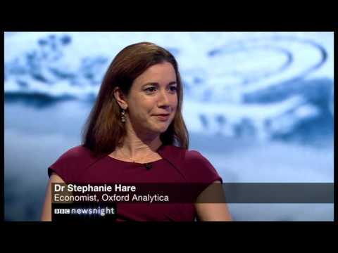 Stephanie Hare on the UK economy - Newsnight