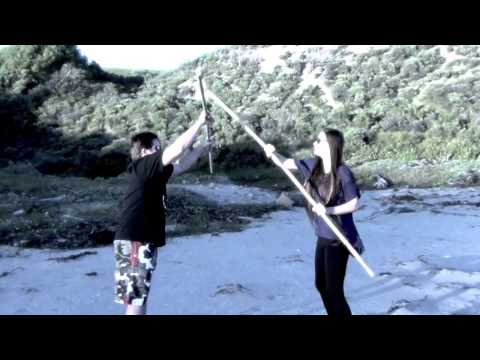 Ashley Tesoro Tang Soo Do Karate Weapons Training Image 1