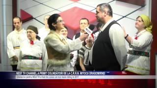 NEst TV Channel a primit colindatori de la C.R.R.N Mitocu Dragomirnei