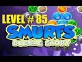 smurf bubble story game level 85 | the lost village game