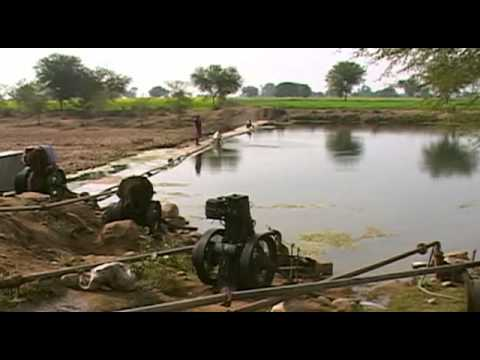 Water conservation project in india