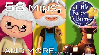 Old Woman Who Lived In A Shoe | Plus Lots More Nursery Rhymes | From LittleBabyBum!
