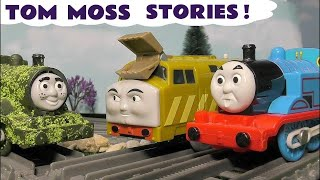 Thomas & Friends pranks with Tom Moss The Prank Engine and the Thomas toy trains TT4U