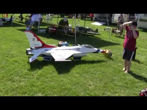 RC airplane Air show rally NAMFI walk though 2010 warbirds Jets great show at SMMAC