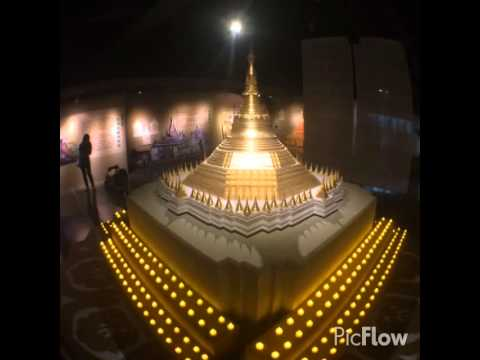 This Video Is Show Myanmar Buddha Tradition Hall In Taiwan video