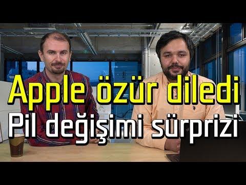 Apple özür diledi, Pil değişimi sürprizi | Mobilite, mobil teknoloji programı
