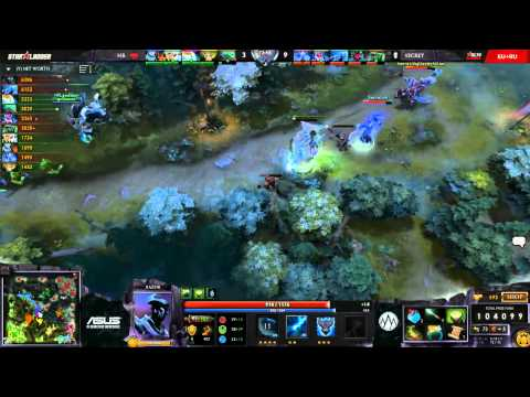 Secret vs HellRaisers (Starladder XI Europe - Groups) - GoDz & LD