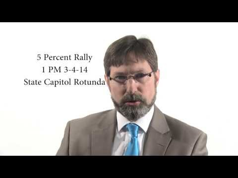 Invitation to the 5 Percent Rally In Saint Paul