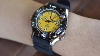 Orient Watch SEL03005Y0 - M-Force Air Diver