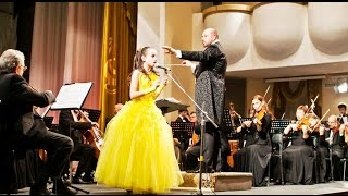 Ave Maria At the concert everybody cried The girl is 11 years old. Victoria Hovhannisyan