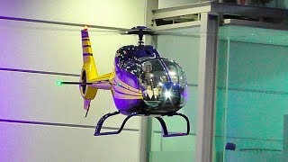EC-120 COLIBRI GIANT RC SCALE  VARIO MODEL HELICOPTER FLIGHT DEMONSTRATION INDOOR
