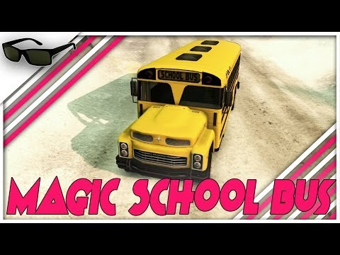 "SpinTires Gameplay – Let's Play: ""The Magic School Bus"" 