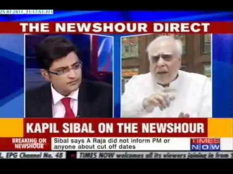 Kapil Sibal Ripped off Arnab Goswami