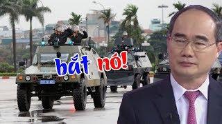 Quân đội đọc quyết định bắt khẩn cấp Nguyễn Thiện Nhân