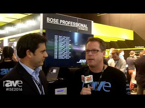 ISE 2016: Gary Kayye Talks with Fuat Koro, Director of Global Marketing and Sales, for Bose