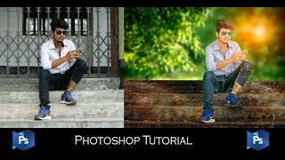 How to Blur background in photoshop CC   soft light photo effect