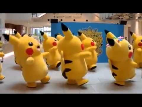 Picachu Dance ~ ̄▽ ̄~